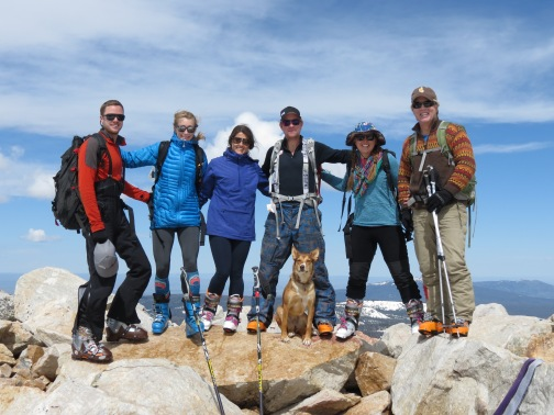 Before I headed to Utah I got to climb and ski Medicine Bow Peak with some of my favorite people